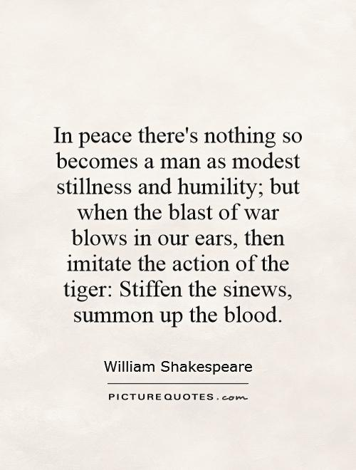 shakespeare war quotes