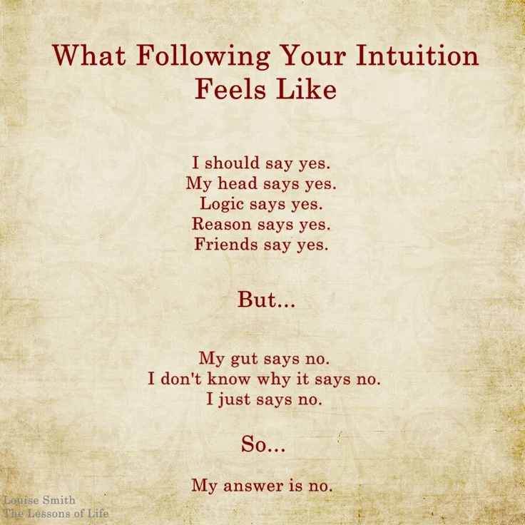 Intuition Quotes Enchanting Quotes About Trust Your Intuition 48 Quotes