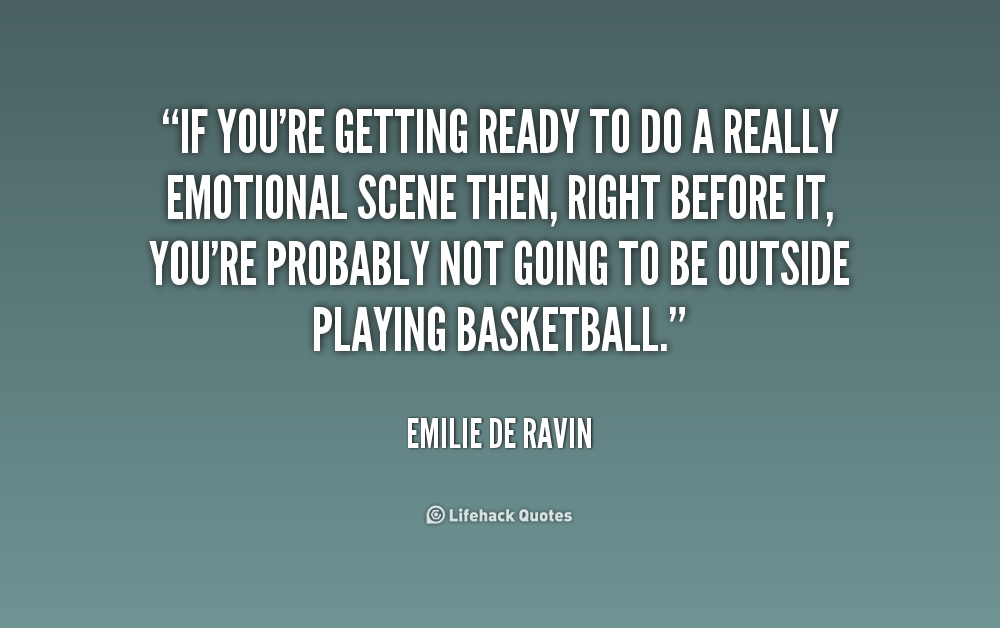 quotes about getting ready