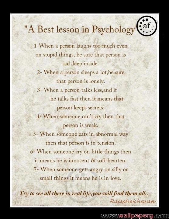 Quotes About Life Psychology 51 Quotes