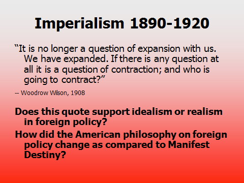 american imperialism thematic essay