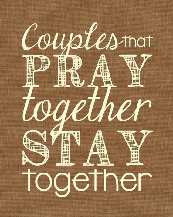 Image result for the couple that prays together stays together