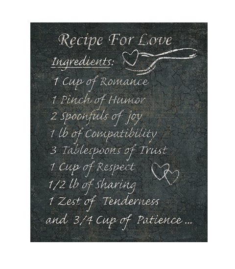 Quotes about recipe for love 58 quotes for Easy romantic meals to cook for him