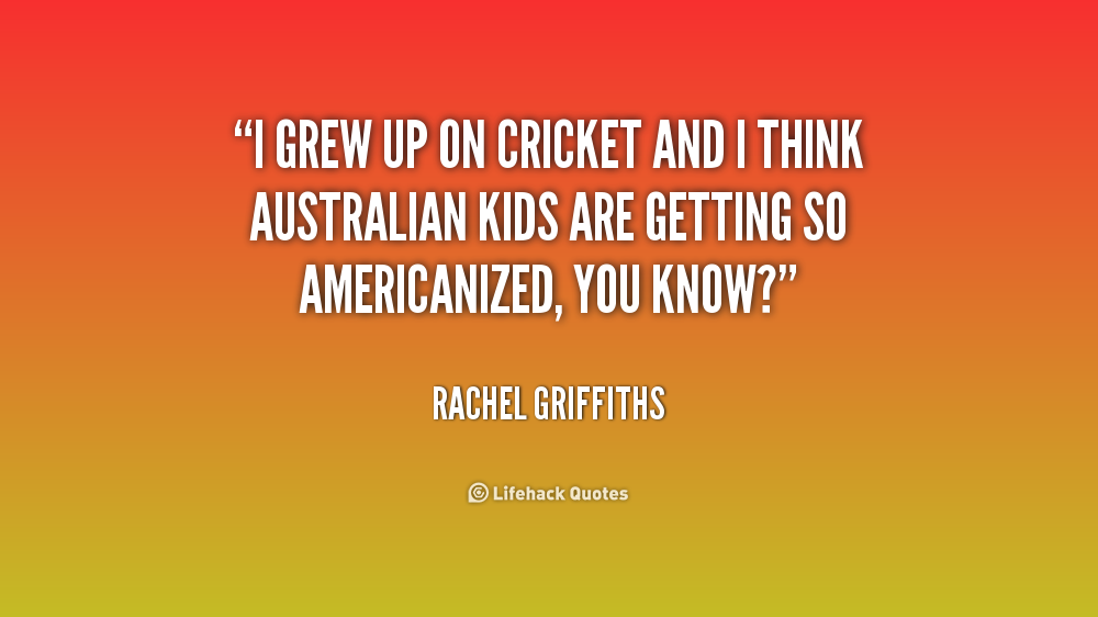 cricket match with quotations