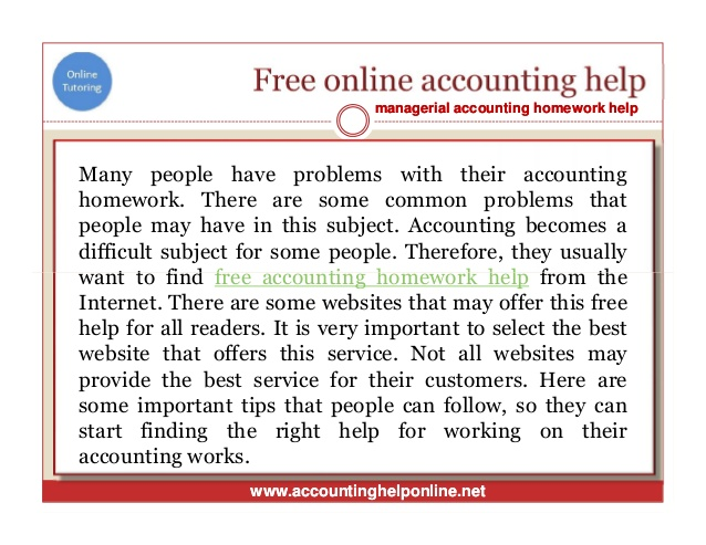 Fast Reliable Accounting Answers
