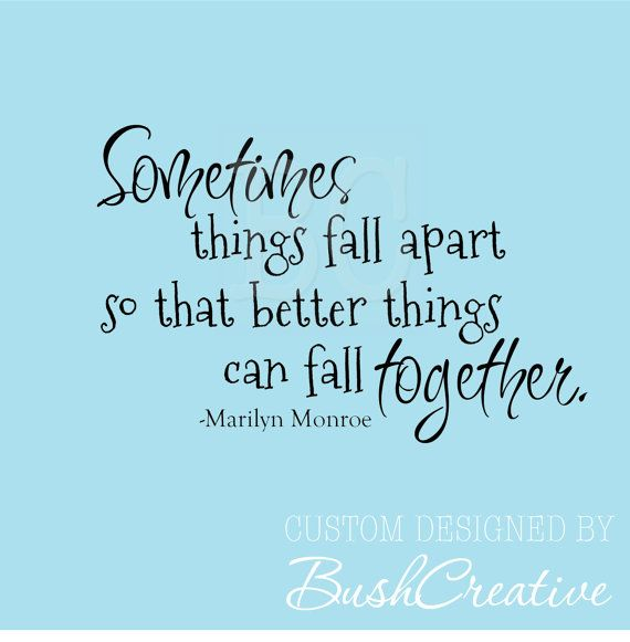 Falling Apart Quotes Tumblr: Quotes About Falling Apart (170 Quotes