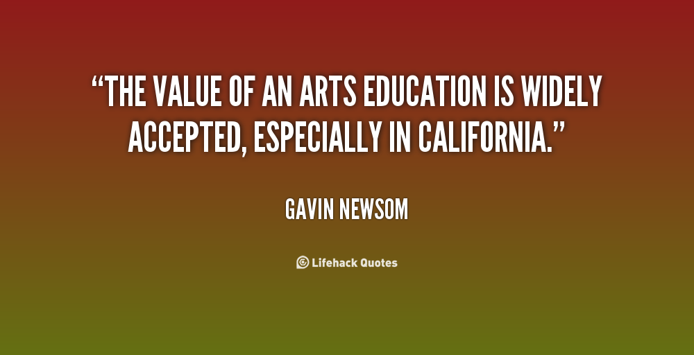 value of arts