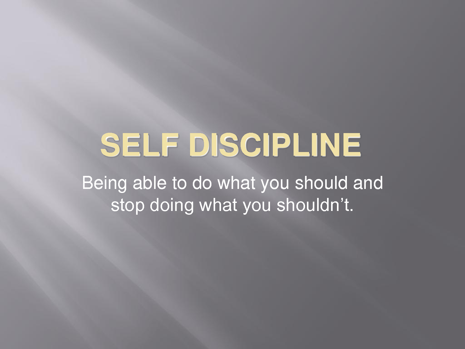 beautiful essay on discipline Discipline is a way of life where one tries to be on time and live in systematic wayhere are 8 points on why is discipline i'm beneficiaries to read this essay.