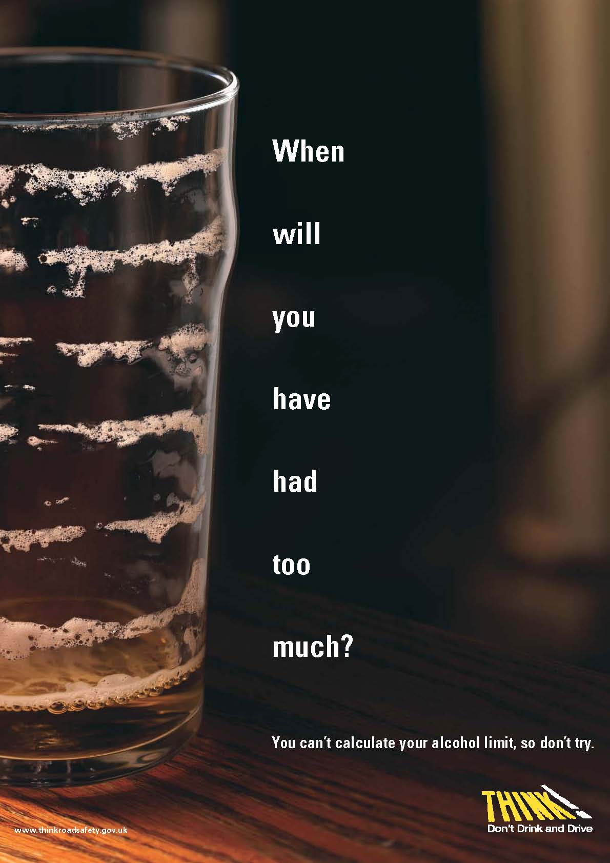 Drinking And Driving Quote Commercial