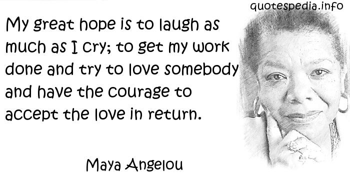 Quotes About Courage Maya Angelou 50 Quotes