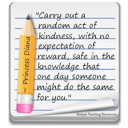 random acts of kindness essay
