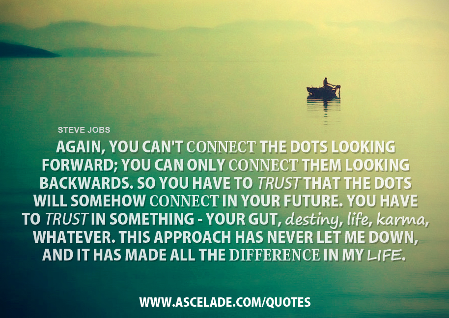 Quotes About Connecting The Dots 28 Quotes