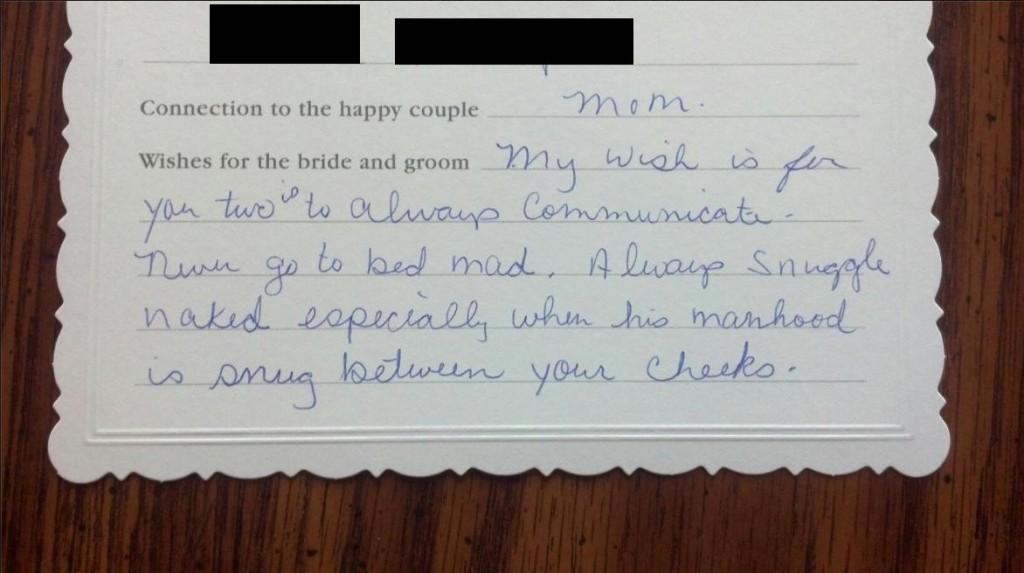 Funny Advice For Newlyweds Speech