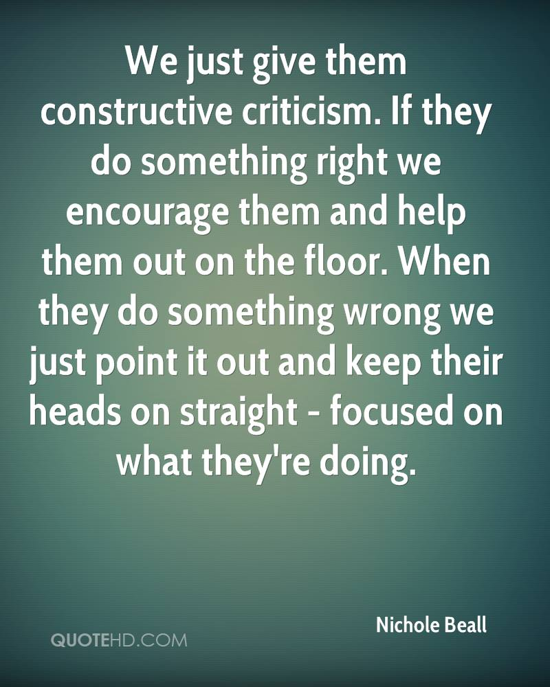 Criticism Quotes: Quotes About Accepting Criticism (56 Quotes
