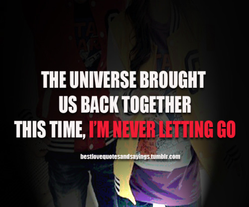 Quotes About Getting Back Together 40 Quotes Impressive Getting Back Together Quotes