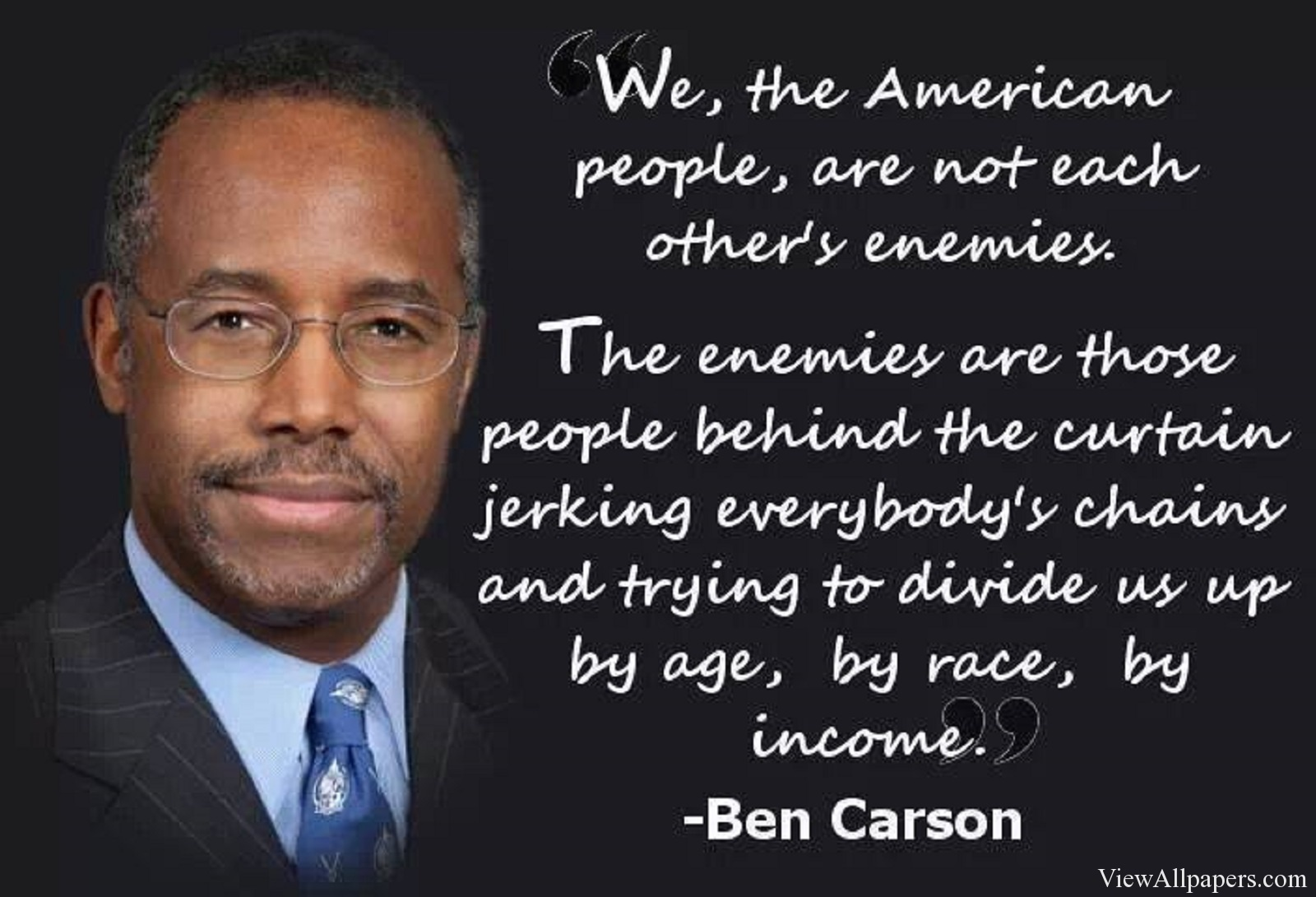 an argument that dr ben carson optimizes the american dream But paleos, who'd never dream of blaming putin for chechnya if chairman ben were a friend of the american people, rather than pal (and chief counterfeiter) to.