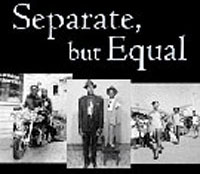 an analysis of the national desegregation of public schools in the movie separate but equal