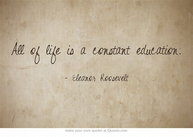 Quotes About Education Eleanor Roosevelt 20 Quotes