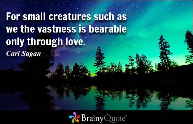 Quotes About Sagan 60 Quotes Stunning Carl Sagan Love