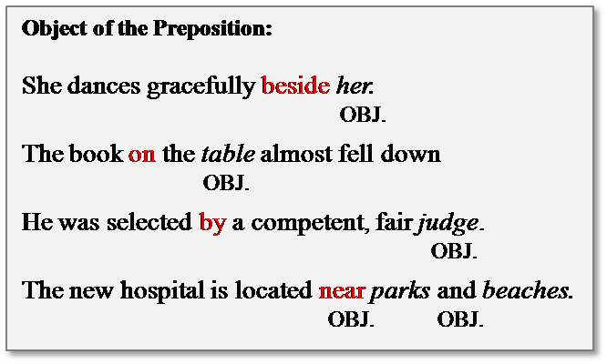 Prepositions and prepositional phrases ppt video online download.