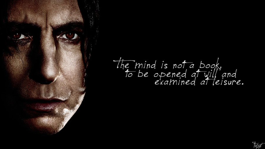 Quotes About Severus Snape 28 Quotes