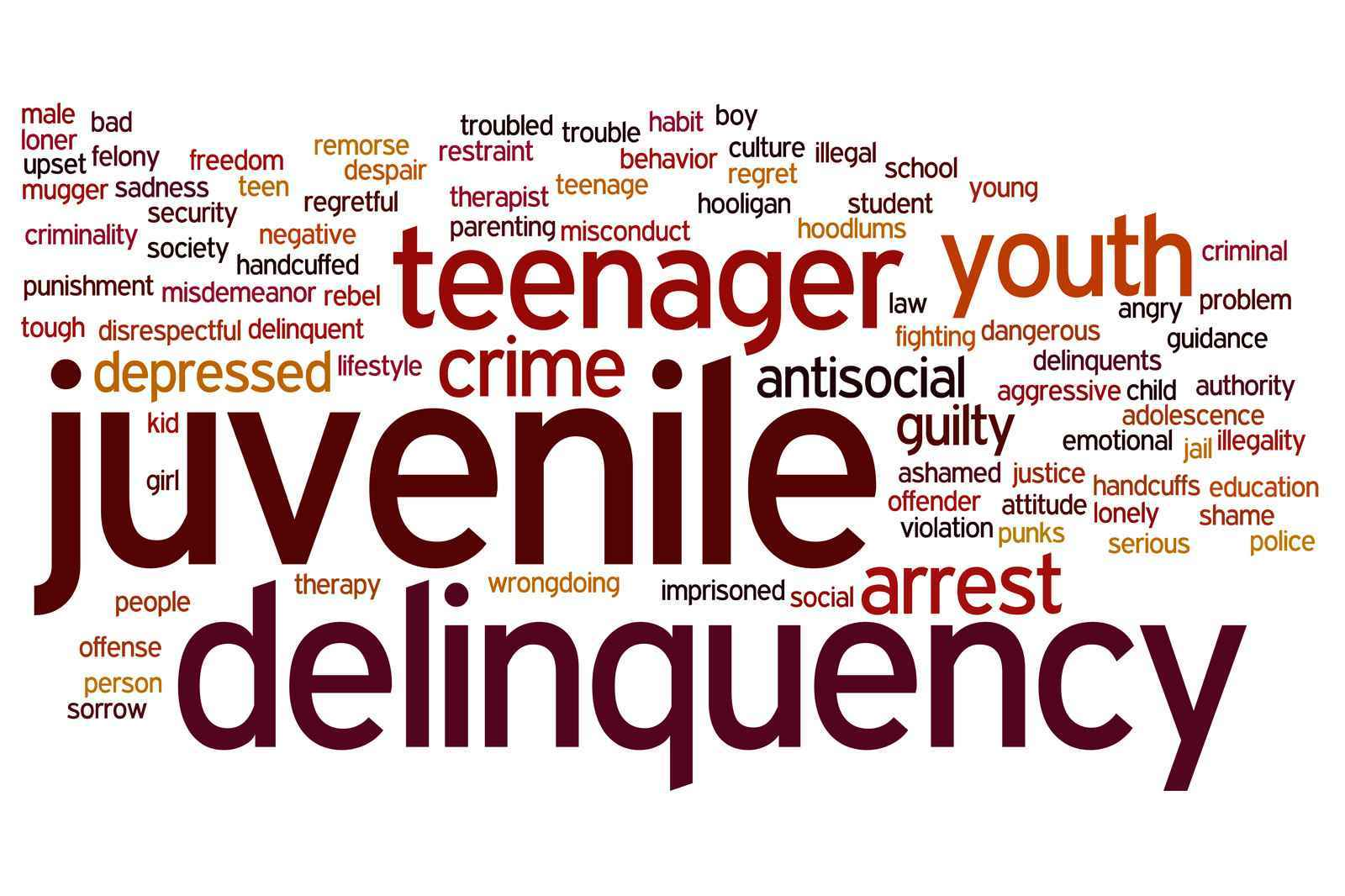 "an analysis of crimes committed by young people and juvenile delinquency in the united states Under the fjda, a district court has several sentencing options: ""the court may suspend the findings of juvenile delinquency, enter an order of restitution [ ], place him on probation, or commit him to official detention"" 18 usc § 5037 (2001) 4 the maximum term of ""official detention"" to which a juvenile may be sentenced is the lesser of the."