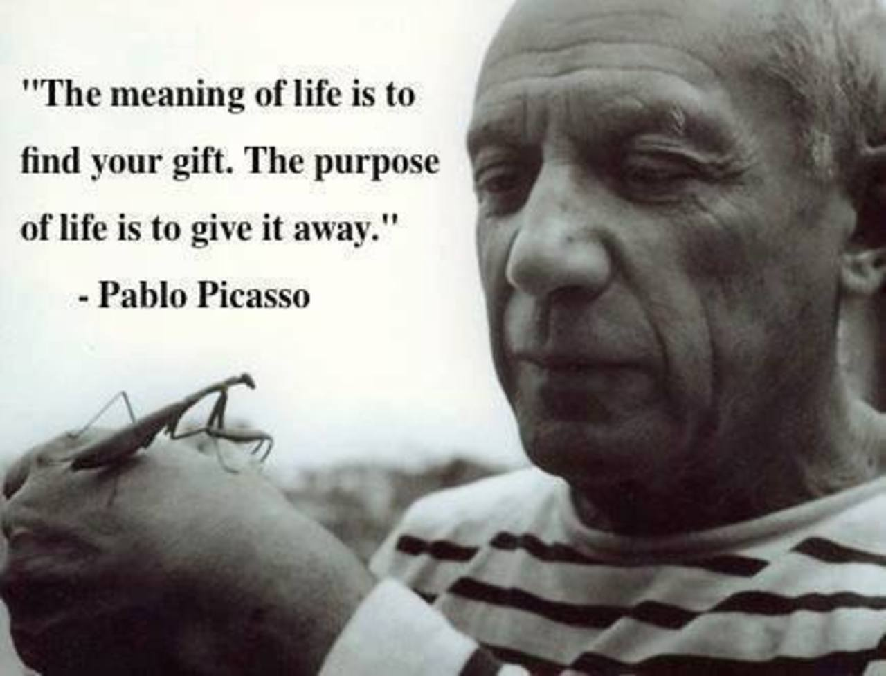 an overview of the quotes on pablo picasso an artist And cubism and its legacy pablo picasso (1881–1973) was at which present an idealized image of picasso's studio life the artist appears in the guise of a.