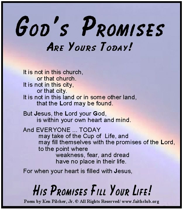 Quotes About Promises Of God 149 Quotes