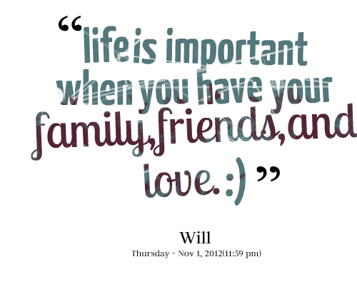 Quotes About Family Importance 60 Quotes Enchanting Important Life Quotes