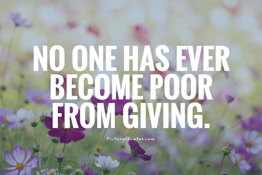 Quotes About Charity And Giving Back 60 Quotes Magnificent Quotes And Sayings On Giving