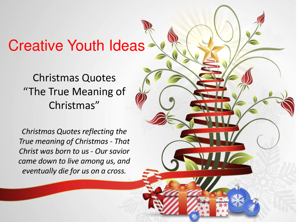 Quotes About Christmas Message 34 Quotes