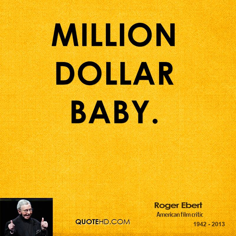 essay million dollar baby