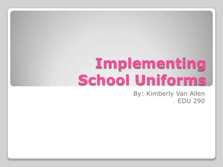 no uniforms persuasive essay