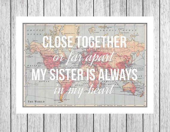 Quotes about Distant sister (26 quotes)