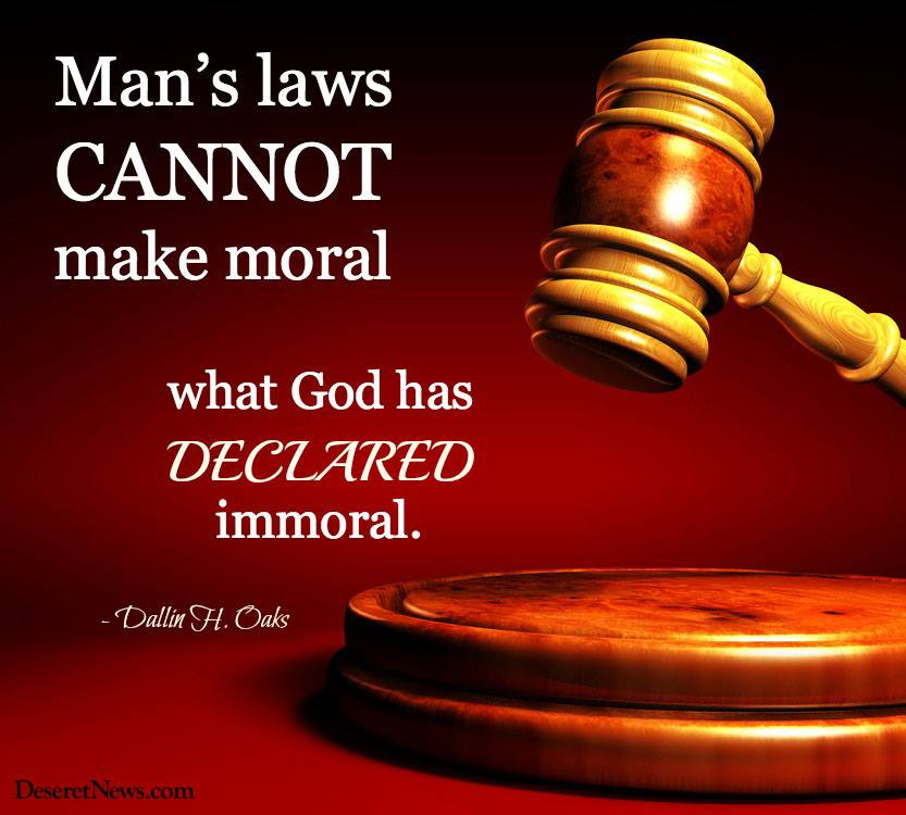 morality and the need for god Good without god morality's foundations crumble in the since without god  it is striking that in his dismissal of a need for absolute theistic morality.