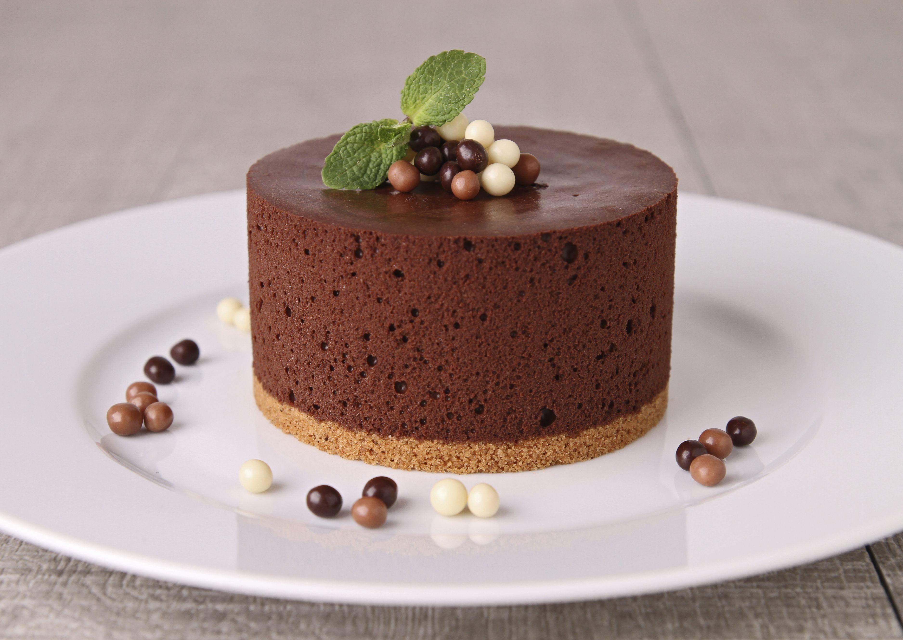 Мусс шоколадный торт