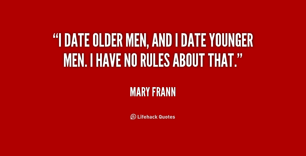 tips dating a younger man
