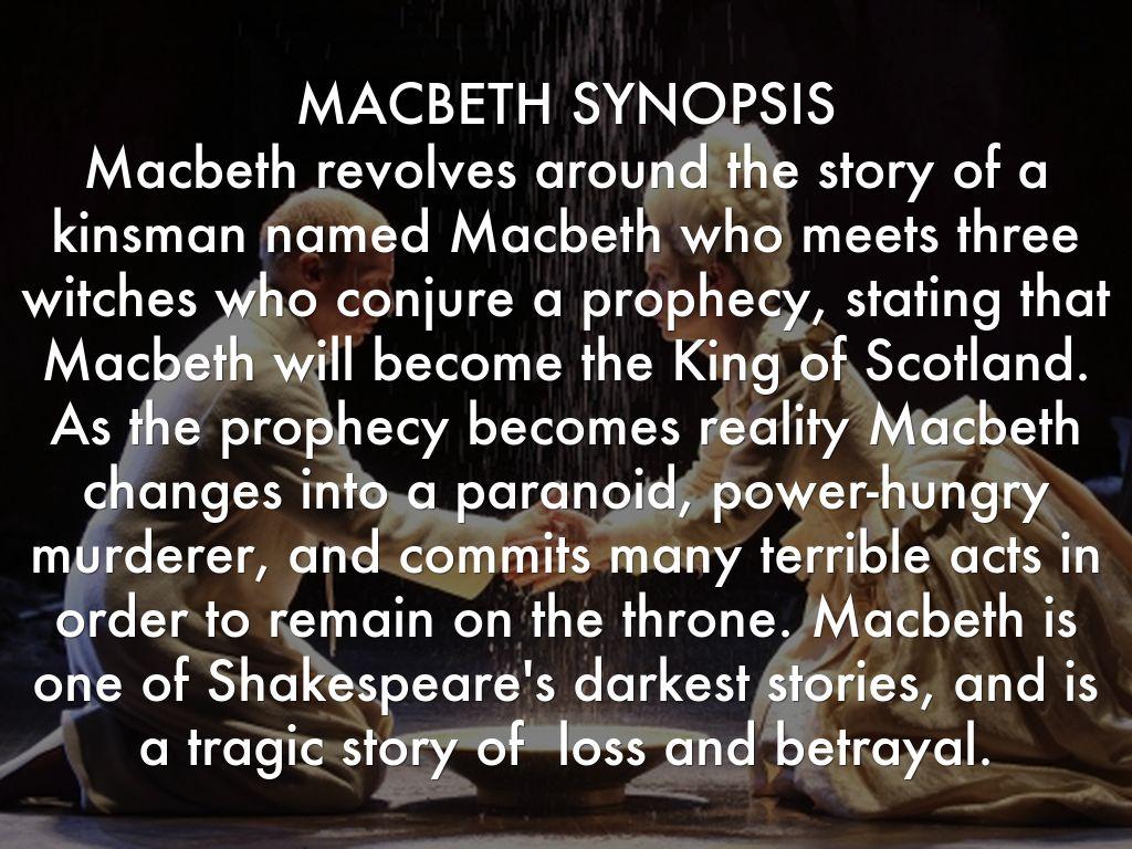 prophesies macbeth
