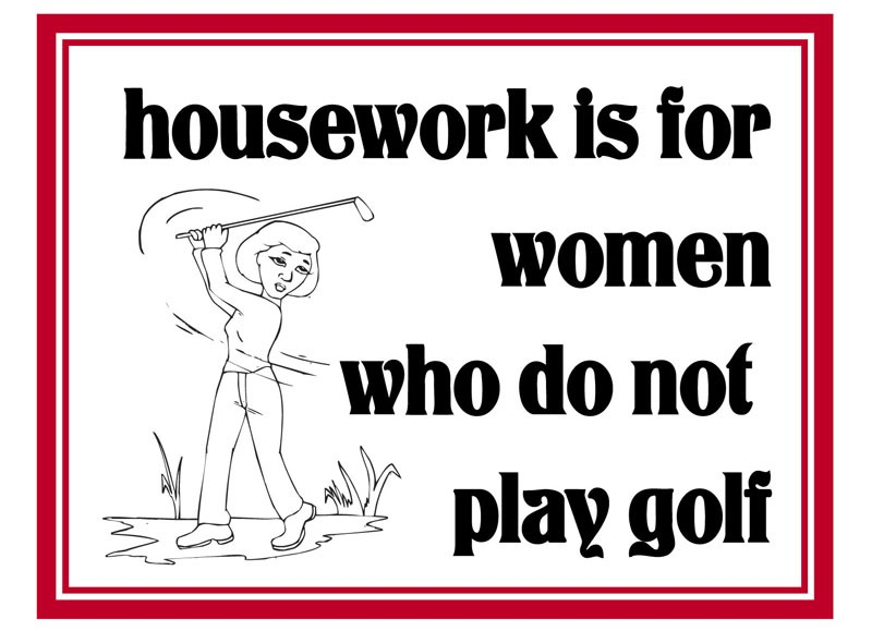Funny golf pictures with women