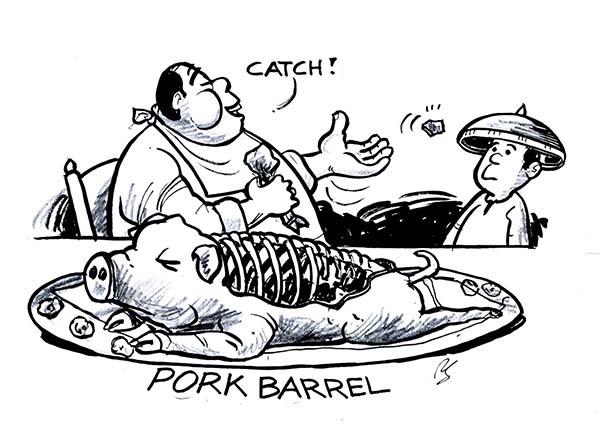pork barrel scam The pork barrel scam's alleged mastermind janet lim napoles formally asked the court on friday for transfer to a safer detention facility due to the threats on her life.