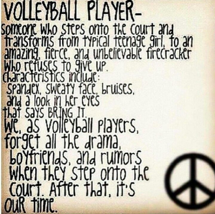 characteristics of volleyball game