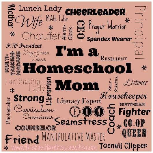 Quotes about Homeschooling mom (28 quotes)