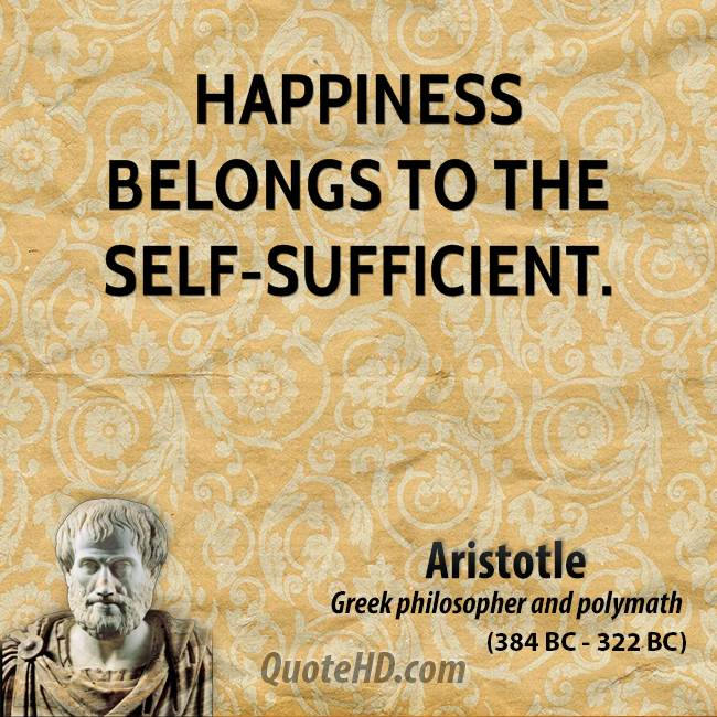 an essay on aristotles pursuit of the good Aristotle on happiness aristotle believes ancient ethical thought has created the idea that an ethical life is a rational life centered on some good.