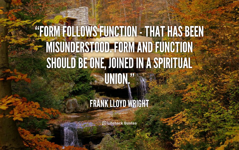 Quotes About Form And Function