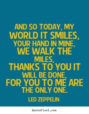Quotes About Love Led Zeppelin 28 Quotes