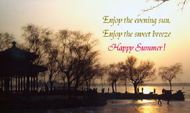 Image result for summer evening quotes