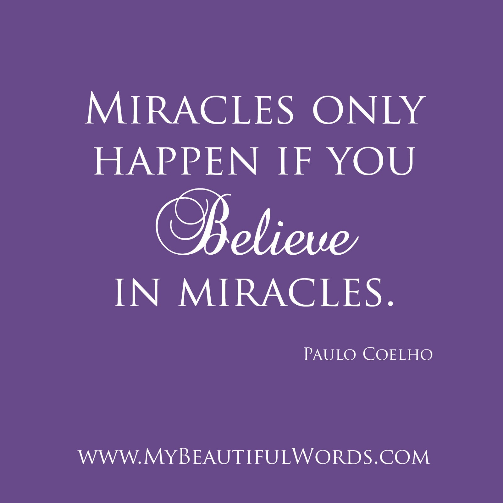 an argument in favor of believing in miracles So many people think that only by believing in god will we be restrained enough to be moral we need to turn that argument believing in god is immoral.