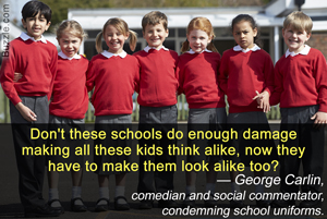 Quotes About Wearing School Uniforms 19 Quotes
