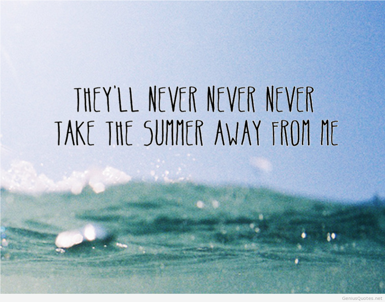 Quotes About Beach In Summer 74 Quotes