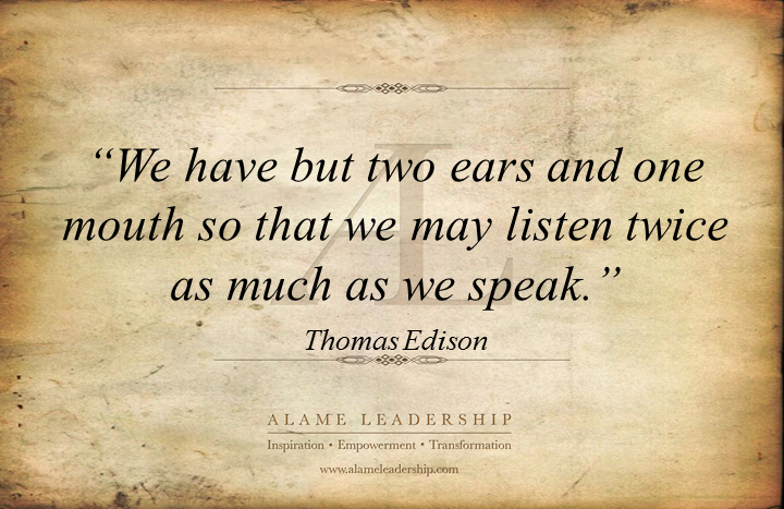 Quotes About Listening Leadership 21 Quotes